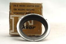 @ Ship in 24 Hrs@ Nikon Macro Adapter Ring BR-2 Reverse Ring for Bellows Model 2