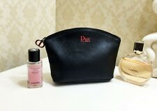 Christian Dior Beauty Black Makeup Cosmetics Bag, Brand NEW! 100% Genuine!!