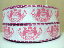 """Juicy Couture Grosgrain Ribbon 7/8"""" Hair Bow Decor Gifts Birthday Party Favor"""