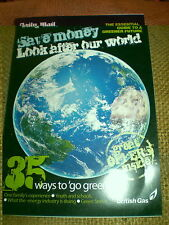35 WAYS TO GO GREEN,60 PAGE BOOKLET IN VERY GOOD CONDITION