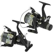 2 x LINEAEFFE FREE CARP 60 3BB CARP RUNNER FISHING REELS WITH 15LB LINE
