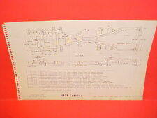 1959 CADILLAC ELDORADO BROUGHAM BIARRITZ DEVILLE FLEETWOOD FRAME DIMENSION CHART
