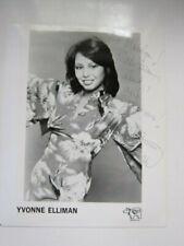 YVONNE ELLIMAN   8x10 photo  AUTOGRAPHED