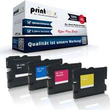 4x Austausch Gel-Patronen für Ricoh Aficio GXe3300n GC-31 BK - Office Plus Serie