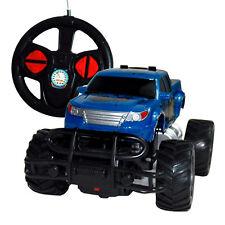 Rayline RC Auto Jeep 6142R  blau, mit Lenkradbedienung