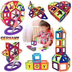 105Pcs Magformers Spielzeug 3D Ziegel Magnetische Bausteine Pädagogisches Set