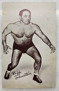 Vintage Wrestling Promotional Card - Ruffy Silvertein