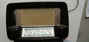 Radio D'epoca a Valvole sonora funzionante