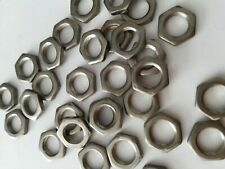 More details for m8 hex nuts for guitar pots stainless steel