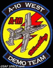 USAF 355th FIGHTER WING - A-10 WEST DEMO TEAM -Davis-Monthan AFB- ORIGINAL PATCH