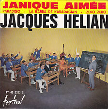 JACQUES HELIAN JANIQUE AIMEE FRENCH ORIG EP