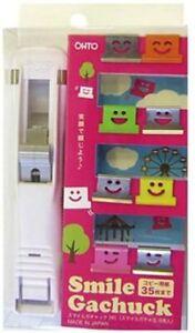 Ohto Smile Gachuck Medium - White GS-500S-WT Paper Clip