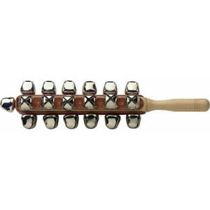 New original boxed Stagg SLB-25 Set Of Sleigh Bells On A Stick STAGG