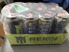 Reign Total Body Fuel Strawberry Sublime Fitness & Performance Drink 16 Oz of