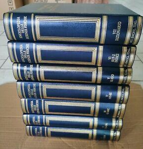 Enciclopedia delle scienze fisiche TRECCANI completa 7 volumi 1992 1996 fisica