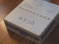 QUAD ELITE STEREO POWER AMP 100+100W - BLACK, NEW BOXED