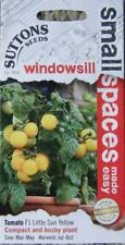 SEED BARGAIN SUTTONS VEGETABLE TOMATO F1 LITTLE SUN YELLOW SEEDS RRP £1.99