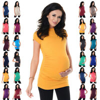 Purpless Maternity Comfy Cotton Pregnancy Top T-shirt 5025