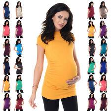 Purpless Maternity Comfy Cotton Pregnancy Top T-shirt 5025