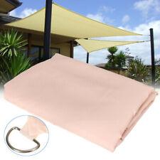 Sonnenschutz wasserfest Rechteck 12m² beige Sonnensegel für Beschattung Terrasse