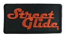 Harley Davidson Street Glide Embroidered Iron/ Sew On Biker Vest Patch (4 Inch)
