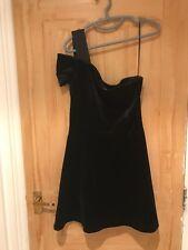 Sandro Dark Blue Velvet Dress Size 2