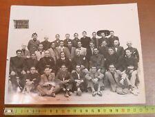 vecchia foto d epoca gruppo di uomini EPOCA FASCISTA GERARCA con divisa Salerno