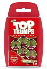 TOP TRUMPS ARSENAL FOOTBALL CLUB FC 2017/18 CARD GAME BRAND NEW