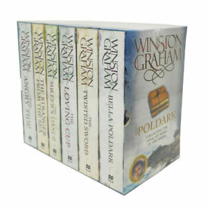 Poldark 6 Books Collection Box Set (7-12) By Winson Graham (The Angry Tide..)