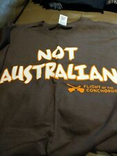Flight Of The Conchords Not Australian T Shirt New XL