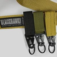 Tactical Belt Buckle Men Belts Carabiner Military Hunting Equipment Lock Outdoor
