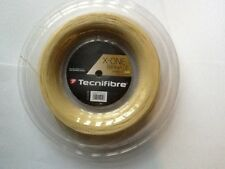 New Tecnifibre X-One Biphase tennis string 16 ga,, 660 ft reel. Multifilament