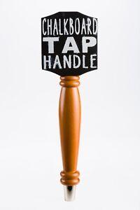Chalkboard Beer Tap Handle For Draft Beer Lover's Kegerator or Bar