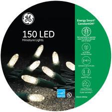 NEW- GE Energy Smart 150-Count 49' ft Constant Warm White Mini LED Light Set