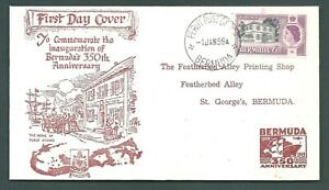 BERMUDA 1959 'Perot' illustrated First Day Cover