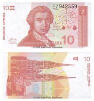 Croatia 10 Dinara 1991  P-18 Banknotes UNC