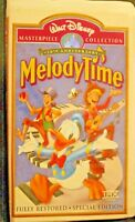 Walt Disney Masterpiece Melody Time VHS 50th Anniversary Fully Restored Special