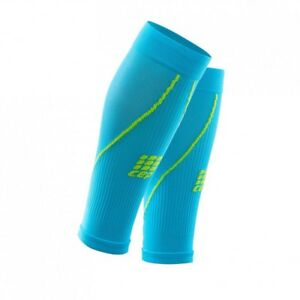 CEP Men's RUN Compression Sleeves Size 4 Hi Blue/Green