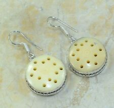 Fashion beautiful silver earrings set natural jasper stone ! Gift Jewelry & Love