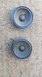 VAUXHALL ASTRA SRI TURBO FRONT DOOR SPEAKERS PAIR MK5 H 2005 5 DOOR