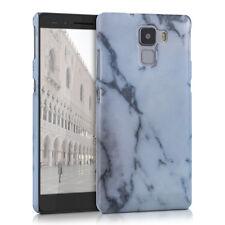 kwmobile Schutz Hülle für Huawei Honor 7 Honor 7 Premium Marmor Weiß Case Cover