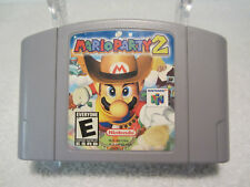 Mario Party 2 (Nintendo 64, 2000) Tested and Works Great!!!