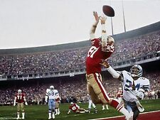 Dwight Clark Photo Print Poster Glossy SF 49ers 8.5 x 11 in.  High Quality