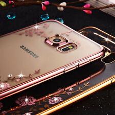 Bling Glitter Diamond suave silicona TPU funda para Samsung S7/8/9 N8 J3/5/7
