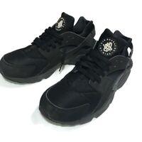 Nike Air Huarache Triple Black Running Shoes 318429-003 Size 11.5 US
