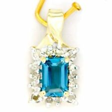 Handmade Topaz Diamond Fine Jewellery
