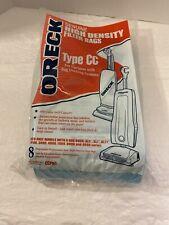 Pk of 6 Oreck Genuine High Density Filter Bags Type CC - CCPK8 Blue