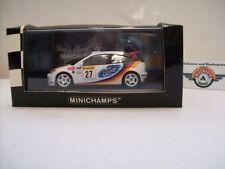 "Ford Focus RS #27 ""Rallye Monte Carlo"" 2002, white, Minichamps 1:43, OVP"