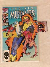 The New Mutants (1983) #42 FN+ Marvel Comics Newsstand