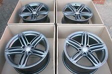 "4 x Original / Genuine Audi Q7 21"" 5 Segment S-Line Triple Spoke Alloy wheels"